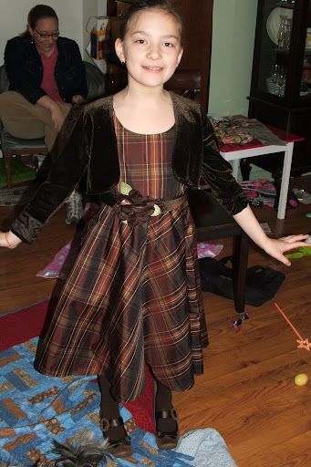 Jane in her Nancy Drew dress, without the jacket it makes her look 12...someone help me!