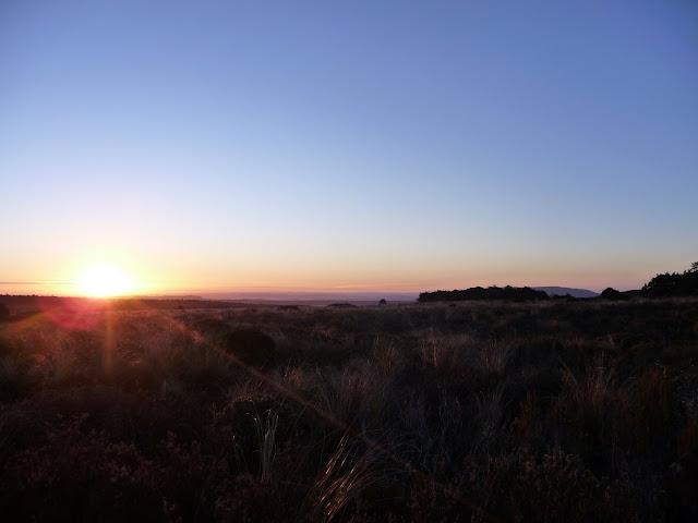 Sunset on Taranaki