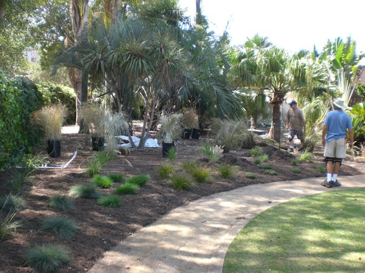 OCC Horticulture Club Department Relandscape