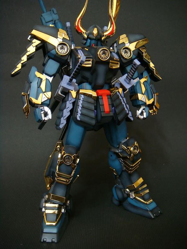 【作品分享】霸氣十足 MG 武者Gundam Mk-II @模型技術與資訊 精華區 - 巴哈姆特