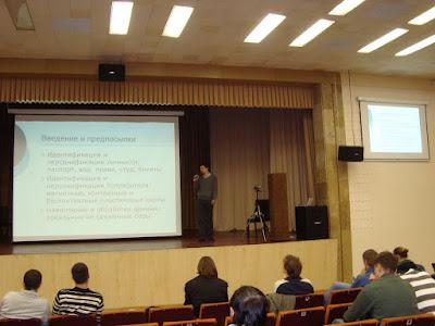Презентация ID Sensor на Startup Crash Test в Киеве