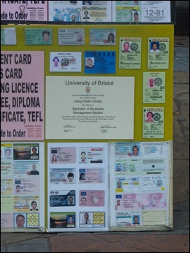 Bangkok Fake Diplomas