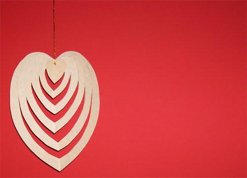 colgante decorativo para san valentin