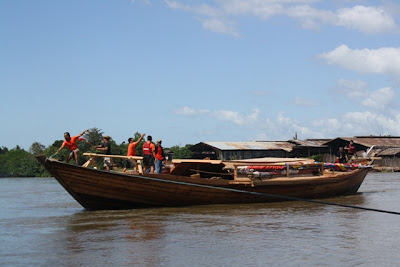 balangay boat launching