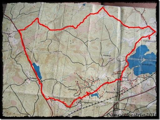 kort over Karlarp min tur 190810