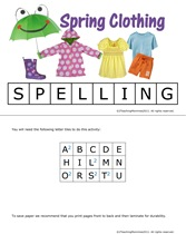 Spring Spelling-1