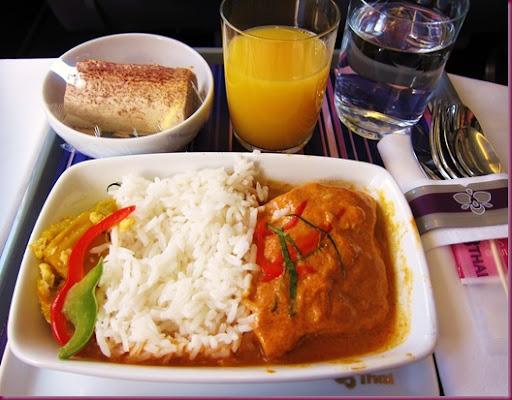 Jin Loves To Eat Thai Airways MNL BKK CNX Inflight Meals