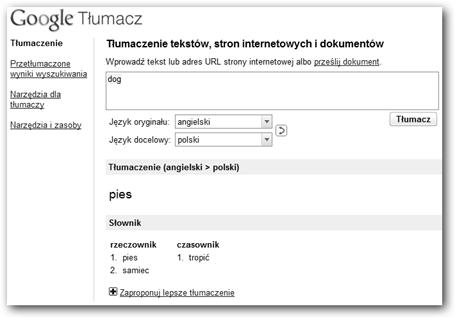 Słownik w operze