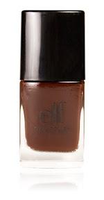 elf cosmetics spring nail polish in chocolate