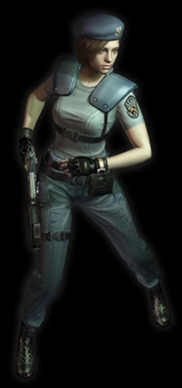 Bionic Beauty's Halloween costume - Jill Valentine from Resident Evil video games