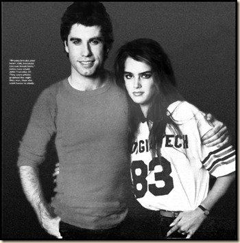 BrookeShields1982JohnTravolta
