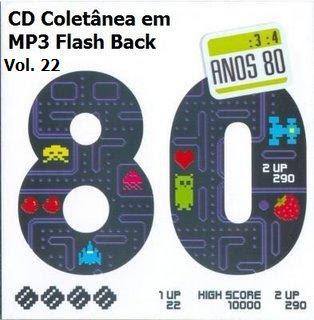 CD Coletânea em MP3 Flash Back Raridade Vol. 22