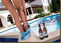 Busch Beer Legs