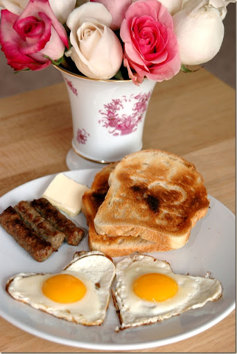 A Valentines Day Breakfast Idea