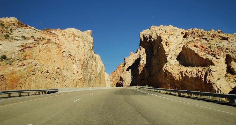 Interstate 70 Near Green River Utah