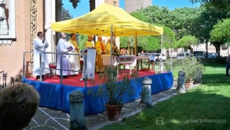 Celebrazione eucaristica presieduta dall'Arcivescovo Mons. Benito Cocchi