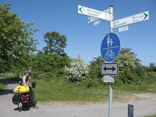 Vokietijos dviračių takų ženklai