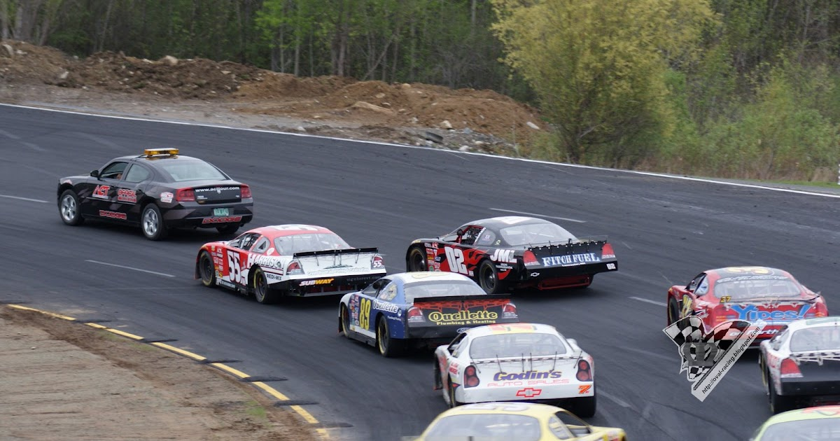 Oval Racing Stock Car Style In Qubec Ontario And New