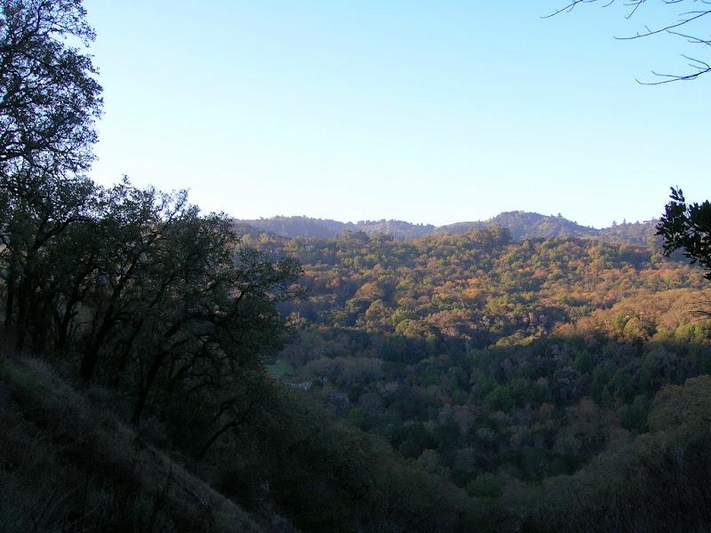 View of Coalmine Ridge - Portola Valley Ranch