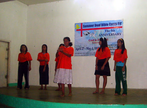 Deaf Singing Group