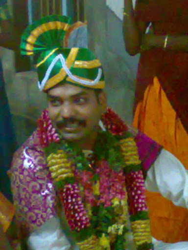 The groom on its day