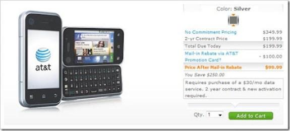 AT&T Motorola Backflip