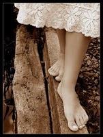 Pasos descalzos por el amor.