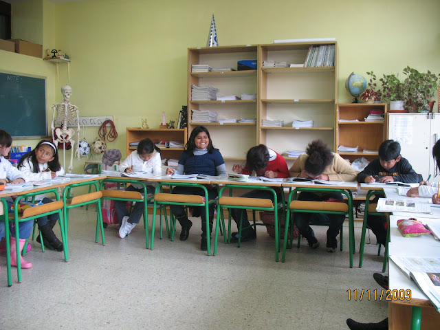 Hora de trabajo personal (CEP ROMO -4º, 2009)