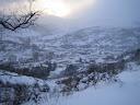 Invierno en La Pola de Gordón (León).- Foto cedida por Eloy José