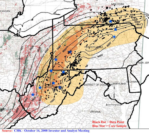 us oil and gas fields pdf 12mb chk marcellus shale depth from data and cores 10162008 source image may be subject to copyright