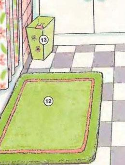 ရုပ်ပုံအဘိဓါန် / Place / ရေချိုးခန်း