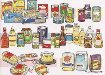 GROCERIES AGRICULTURE: Packaged, Baked, Canned Goods, Ingredients, Jellies, Condiments, Pasticceria