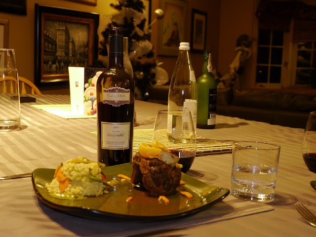 Osso bucco and Zinfandel