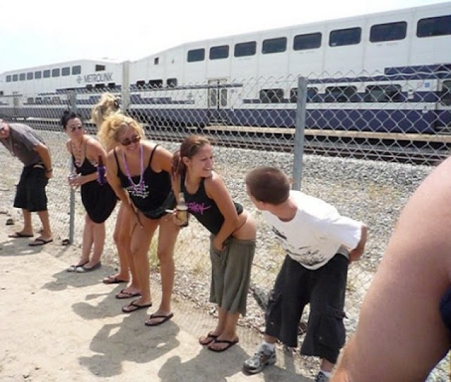 The Event Even Has Its Own Website This Year Proudly Headed St Annual Mooning Of Amtrak It Also Promoted A Newer Offshoot Th Annual Mooning Of