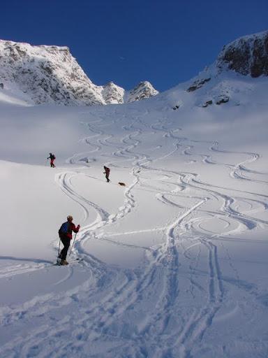 Ski in Valea Doamnei