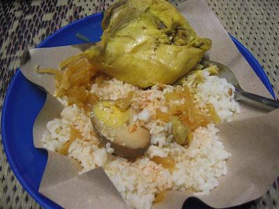 Kuliner Semarang: Nasi Ayam Simpang Lima