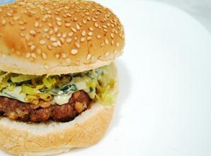 Hambúrguer com Gorgonzola