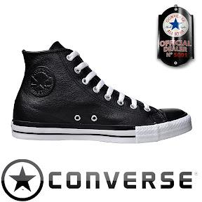 Converse All Star Chuck Taylor Chucks 117280 Leder schwarz