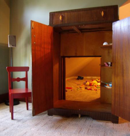 habitacion secreta armario Habitación dentro de un closet