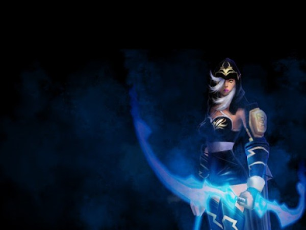 League of Legends Ashe Wallpaper