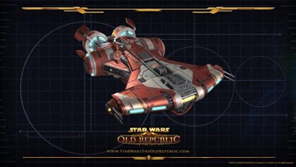 The Old Republic Jedi StarShip