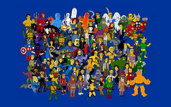 Simpson Characters