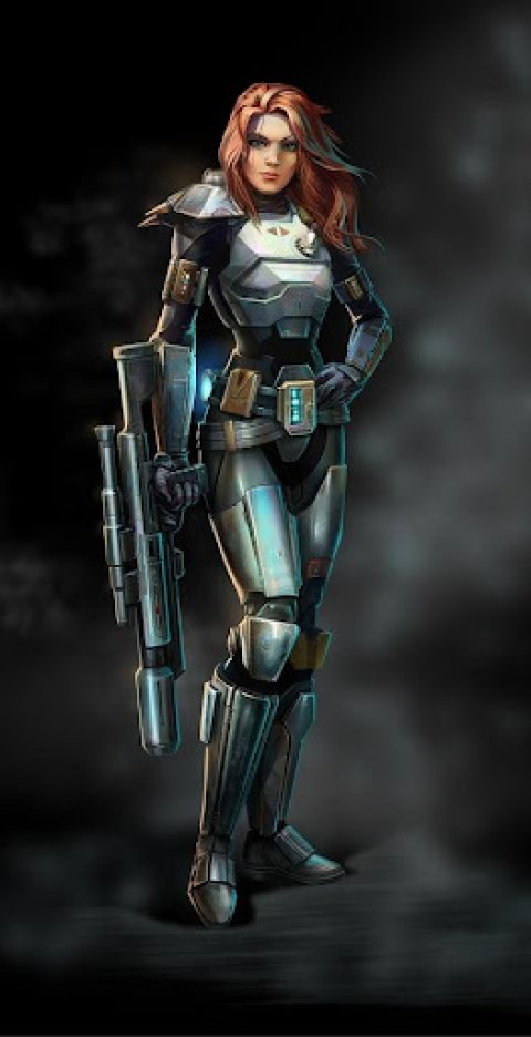 The Old Republic Bounty Hunter