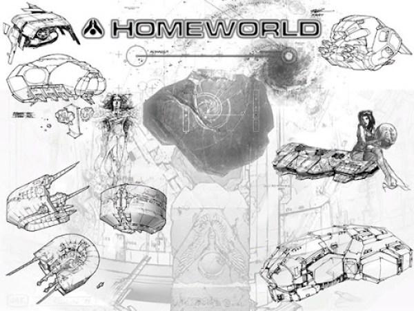 Homeworld Art Concept