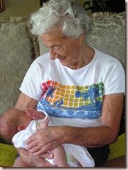 gramma harris and baby s