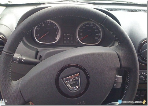Dacia Duster interior2