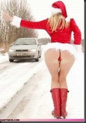 wtf-girl-photo-the-sleigh-broke-down