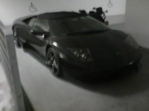 Disabled Lamborghini