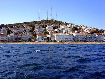 мраморно море истанбул остров къналъада