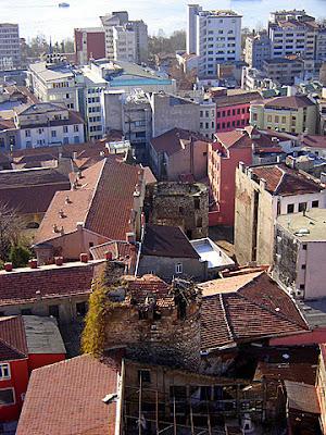 турция истанбул цитадела галата